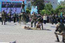 Военные РгК «Юг» в День Победы разбивали кирпичи и танцевали «венский вальс»
