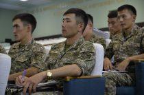 Сборы молодых лейтенантов РгК «Юг» в Гвардейском гарнизоне