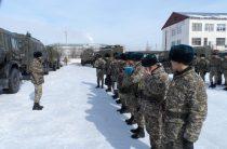 В Региональном командовании «Юг» проверили боевую готовность в зимних условиях