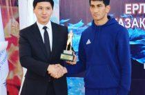От чемпиона чемпиону: Аслан Шымбергенов стал лучшим боксером республики