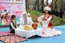 Полицейские Жамбылской области отметили Наурыз