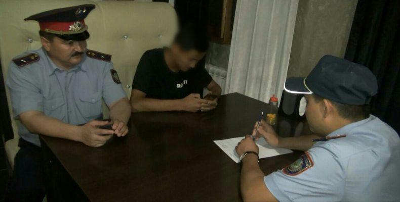 18 несовершеннолетних задержаны жамбылской полицией за выходные