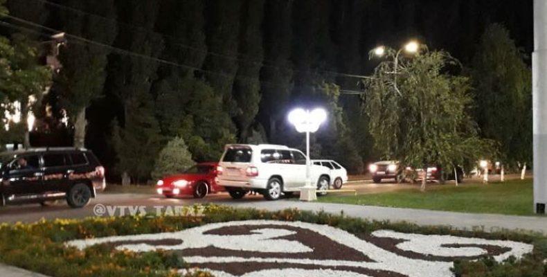 Наказали водителя Lexus — жамбылские полицейские оперативно реагируют на сигналы граждан