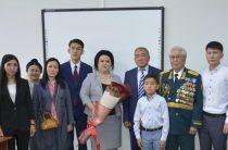 В КазНУ имени Аль-Фараби открылась аудитория имени  Халык Каһарманы Газиза Байтасова