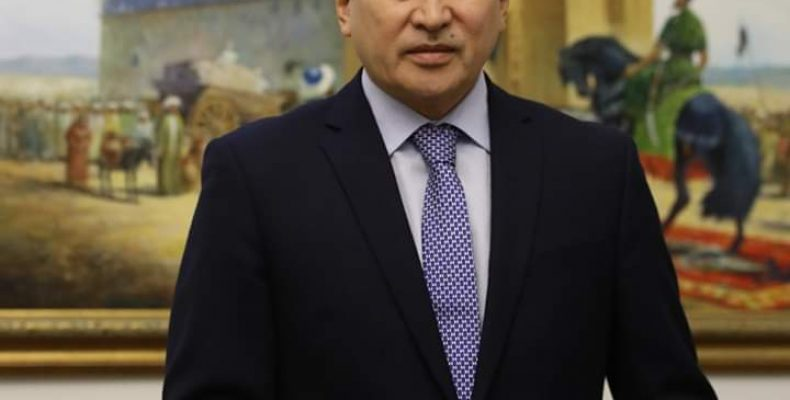 Аскар Мырзахметов утвержден в должности акима Жамбылской области