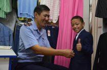 Полиция Тараза приняла активное участиев акции «Дорога в школу»