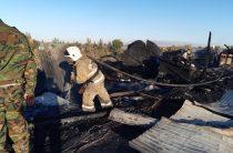 Неосторожное обращение с электрооборудованием называют причиной пожара многоэтажного жилого дома в Таразе