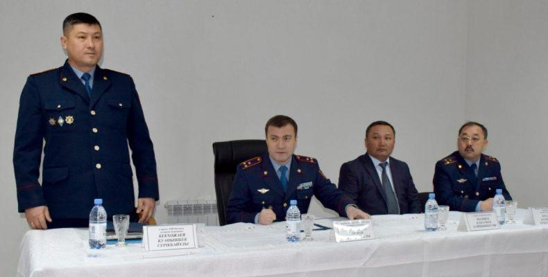 Назначен начальник отдела полиции Сарысуского района Жамбылской области