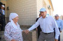 Аскар Мырзахметов проверил ход восстановительных работ в Арыси