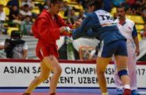 Жамбылские спортсмены взяли призовые места в чемпионате Азии по самбо
