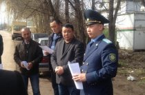 Жамбылские прокуроры интересуются проблемами сельчан
