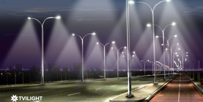 В Таразе меняют ночное освещение на светодиодное, а воздушные линии – на подземные