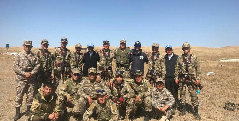 Военный атташе Индии посетил Жамбылскую область