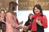 Уроженка Жамбылской области получила награду от супруги американского президента