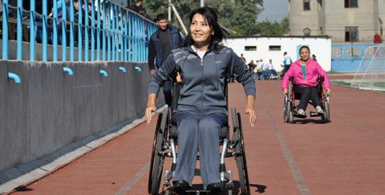 Руководитель объединения инвалидов Эльмира Ибраева участвует в проекте «100 новых лиц Казахстана»